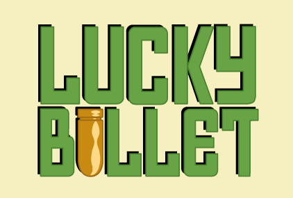 Lucky Bullet game logotype